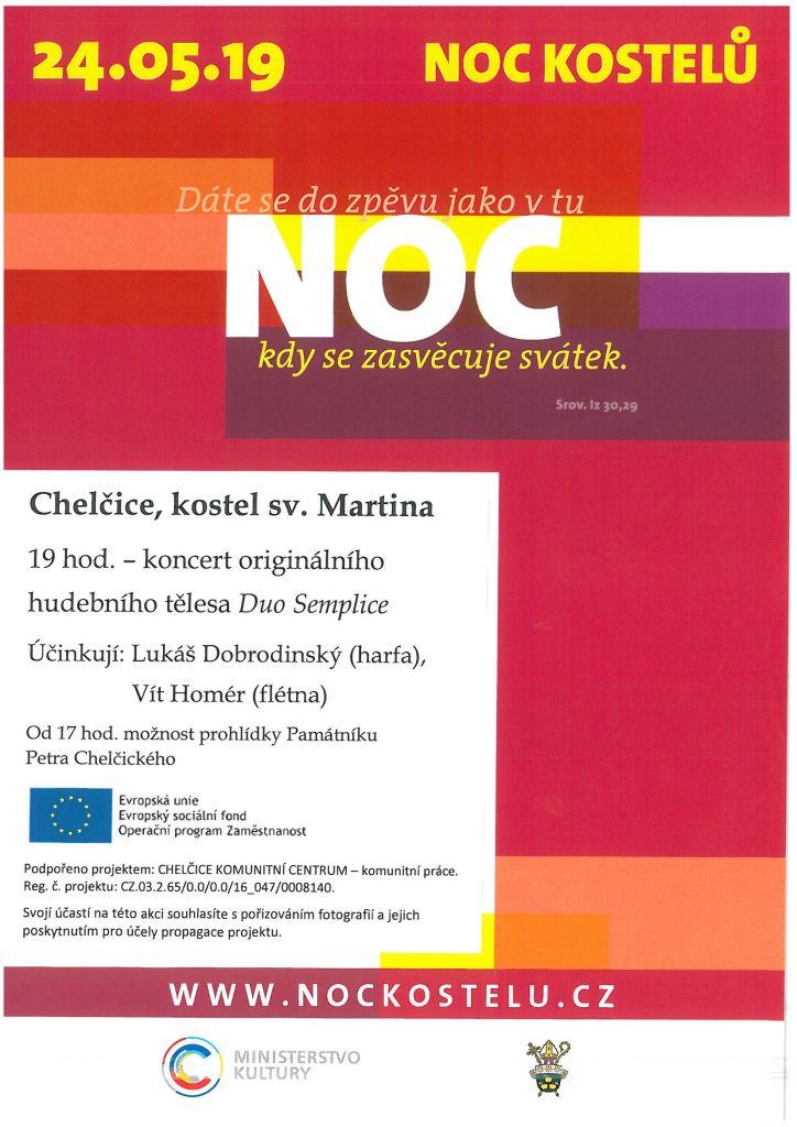 Noc kostelů i v Chelčicích 1
